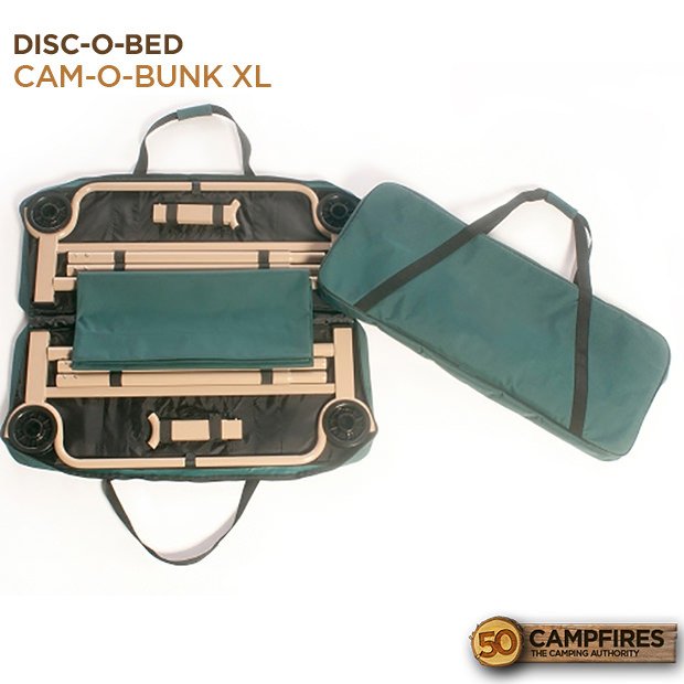 Disc O Bed Cam O Bunk Xl Cot Review 50 Campfires