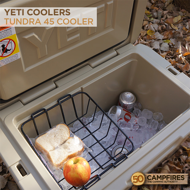 45 Easy Camping Recipes: Yeti Tundra 45 Cooler Review