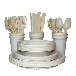 ecosoulife 140 piece disposable set