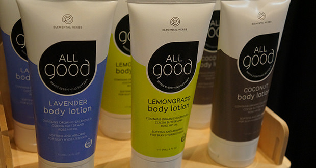 elemental herbs all good body lotion