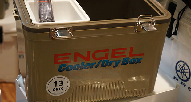Engel Cooler Dry Box Overview 50 Campfires