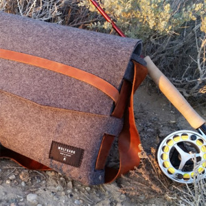 wolfgang felt messenger bag