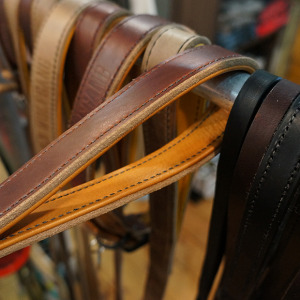 wolfgang horween leather dog leash