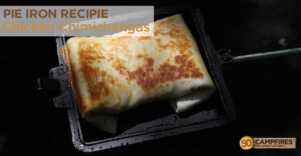 Pie Iron Chimichangas