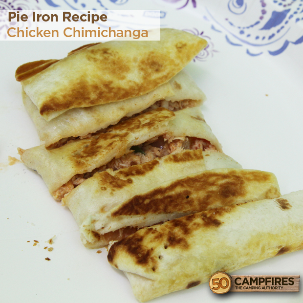 Pie Iron Chimichanga