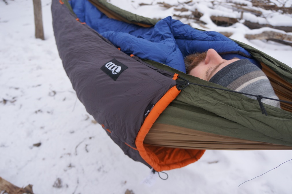 winter hammock camping - Is Winter Hammock Camping For You? - 50 Campfires