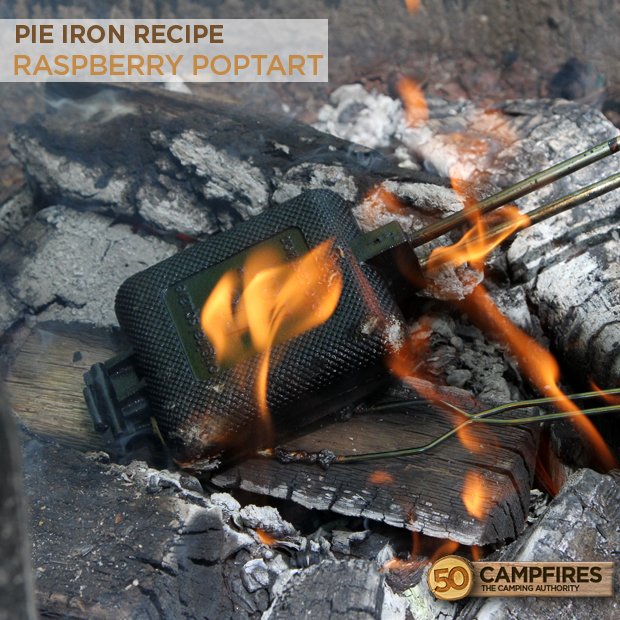Raspberry Poptart Pie Iron