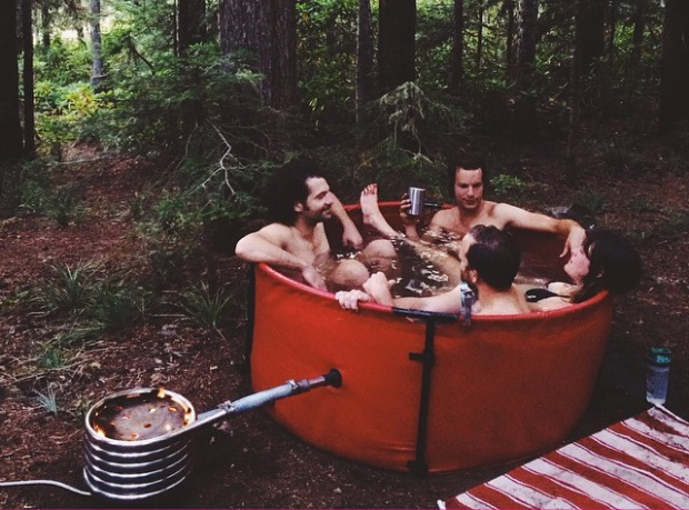 original nomad portable hot tub