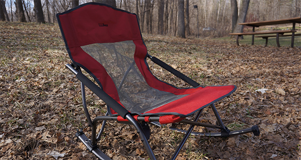 L L Bean Low Rider Camp Chair Review 50 Campfires