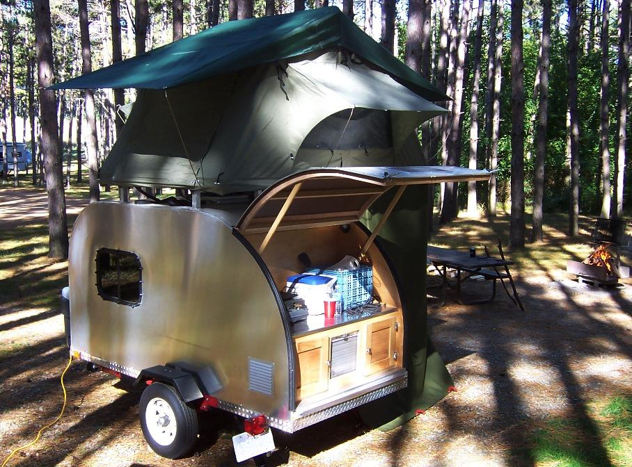 10 Groovy Teardrop Trailers You Ll Love 50 Campfires
