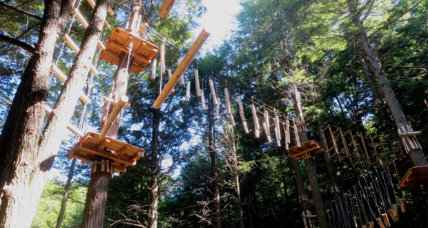 11 Unique Ropes Courses and Aerial Adventure Parks - 50 Campfires
