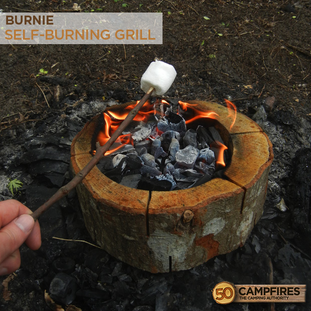 Burnie All Wood Self-Burning Grill
