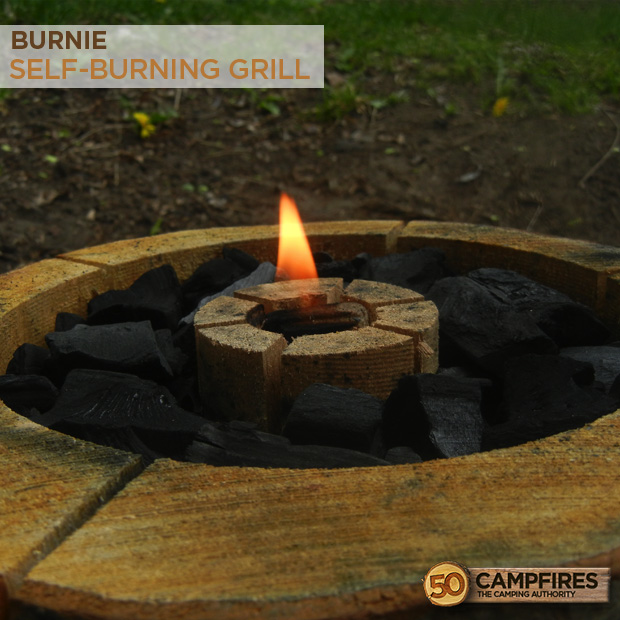 Burnie All Wood Grill Campfire