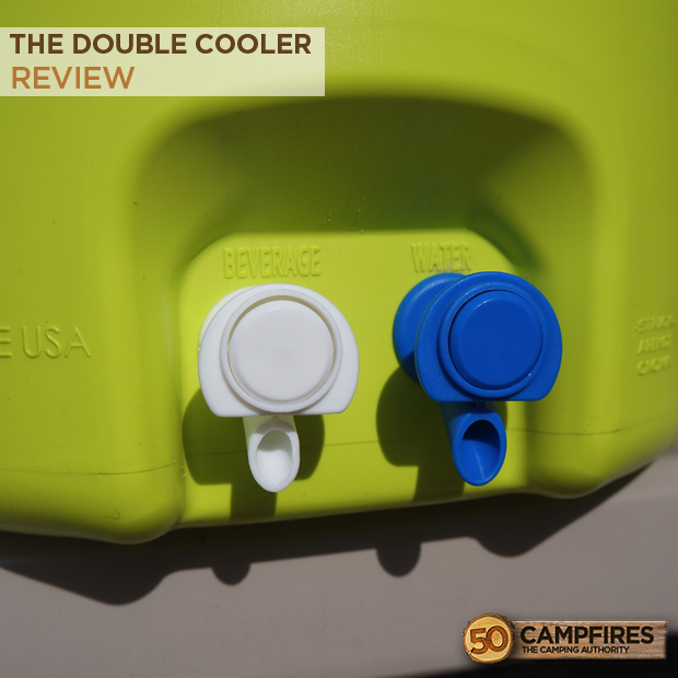 Double Cooler Dual spouts