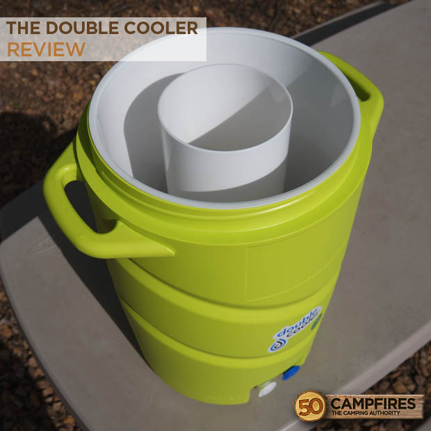 Double Cooler Beverage drink container