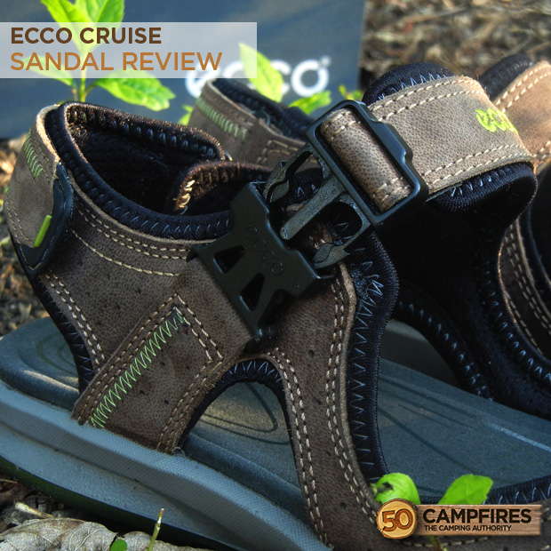 Ecco Cruise Sandal buckle review