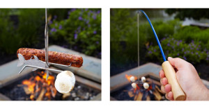 Firebuggz fishing pole roaster