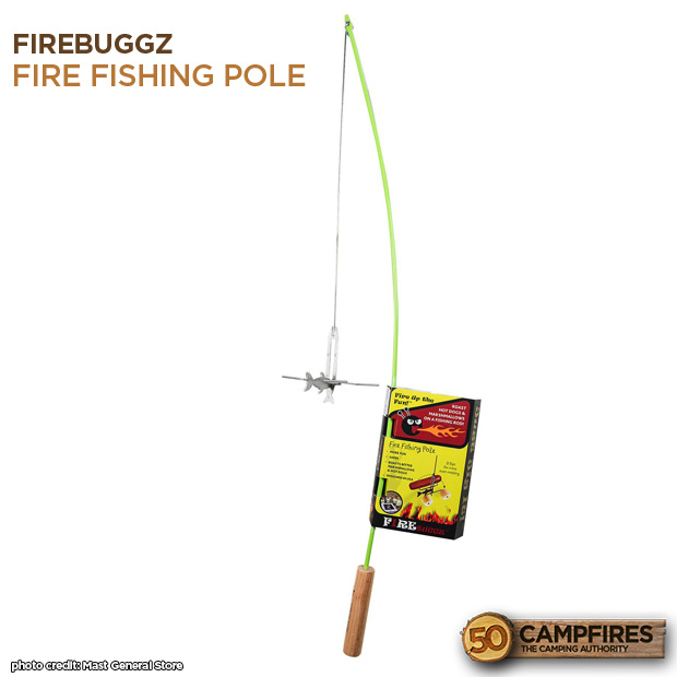 Firebuggz fire fishing pole marshmallow roaster