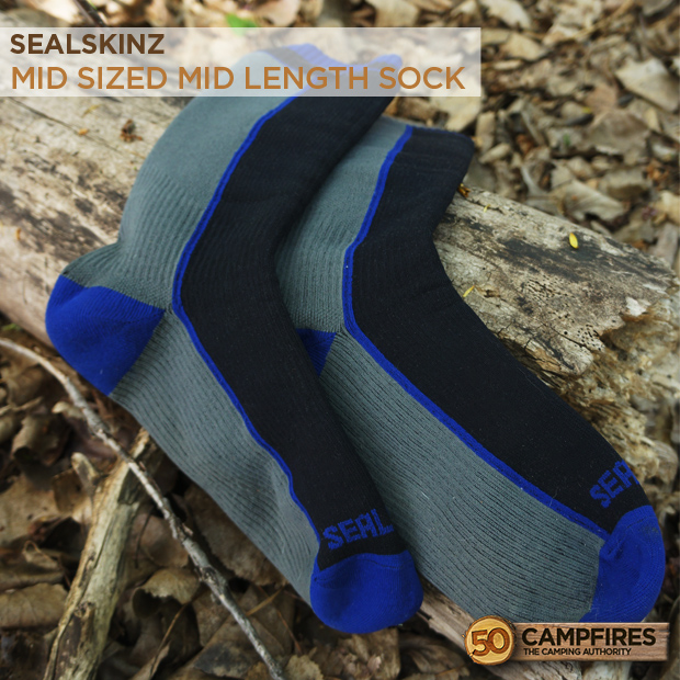 Sealskinz waterproof socks with 50 Campfires