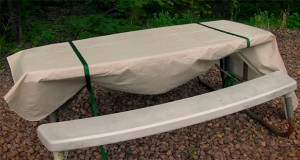 easily secure a tablecloth