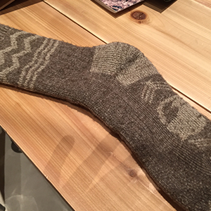 United By Blue Bison Wool Socks