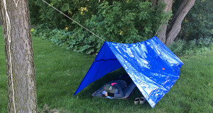 uses for a blue tarp