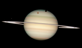 Stargazing at Saturn