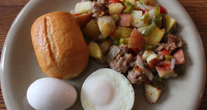 Egg and Sausage Breakfast