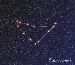 Stargazing at Capricornus the Constellation