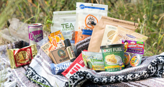 Vegan Camping Box