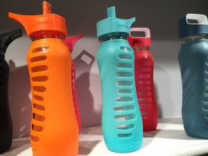 Eco vessel surf glass water bottles