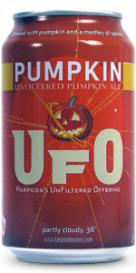 Harpoon Pumpkin Fall Beer
