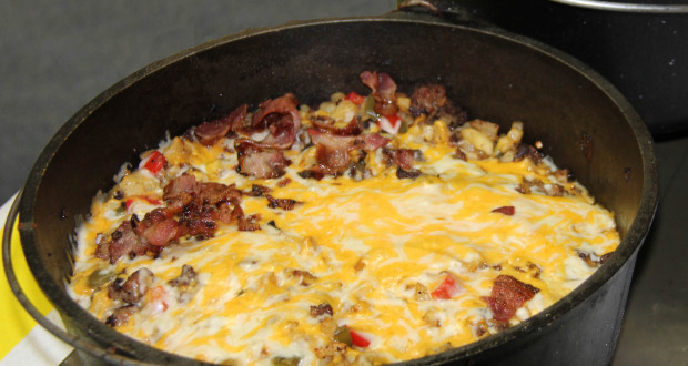 breakfast camping recipe