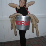 Bucket of Worms Halloween Costume