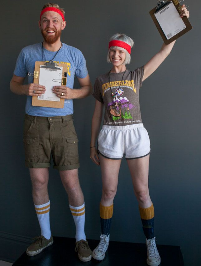camp counselors couples halloween costume