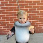 Roasted Marshmallow Halloween Costume