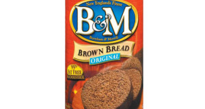 This is B&B Brown Bread in a can as you can buy it at the grocery store or online.