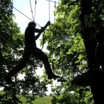 Outdoor Activities: High Ropes Course