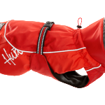 Winter Dog Gear: Hurtta Winter Jacket in red