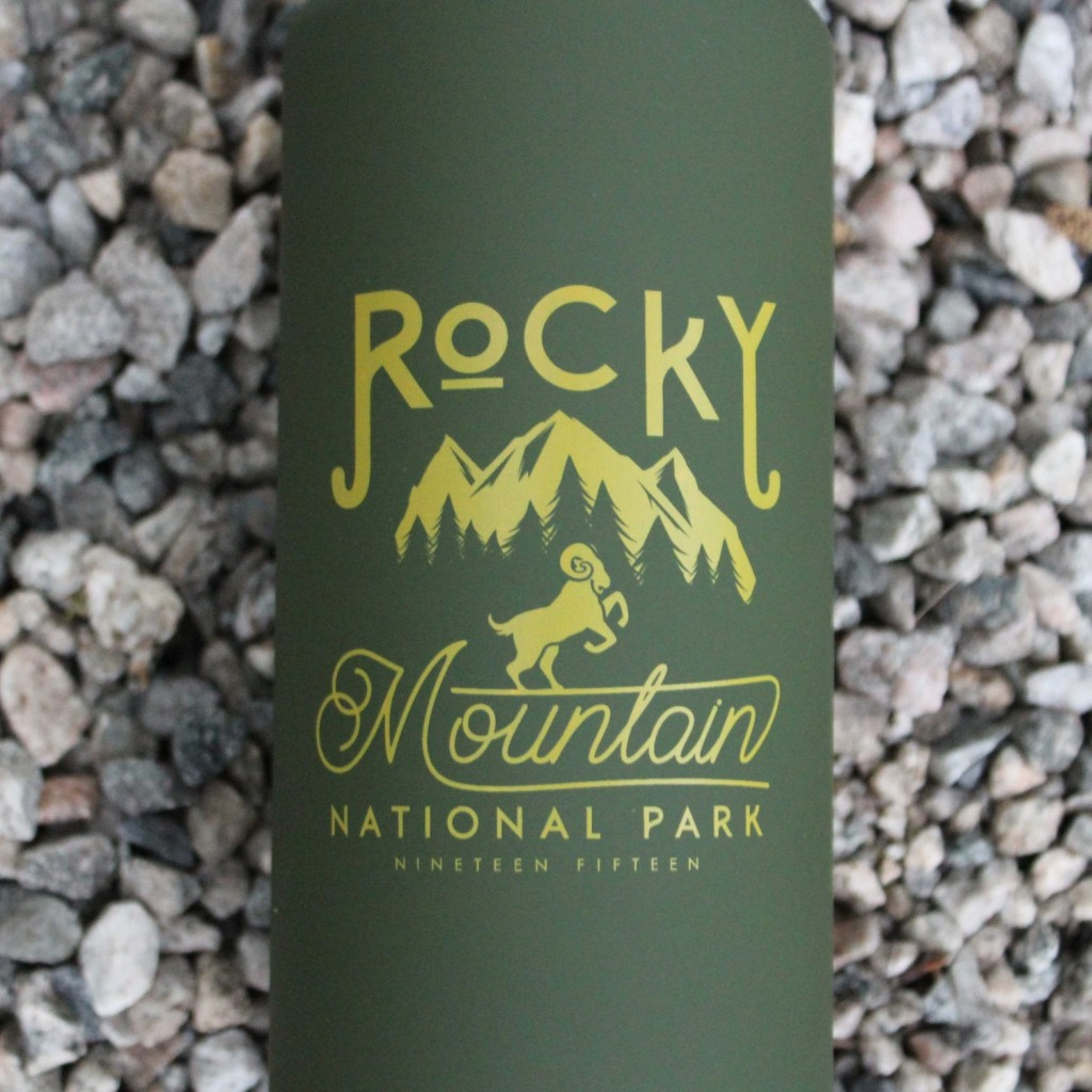 limited edition national parks bottle rocky mountain