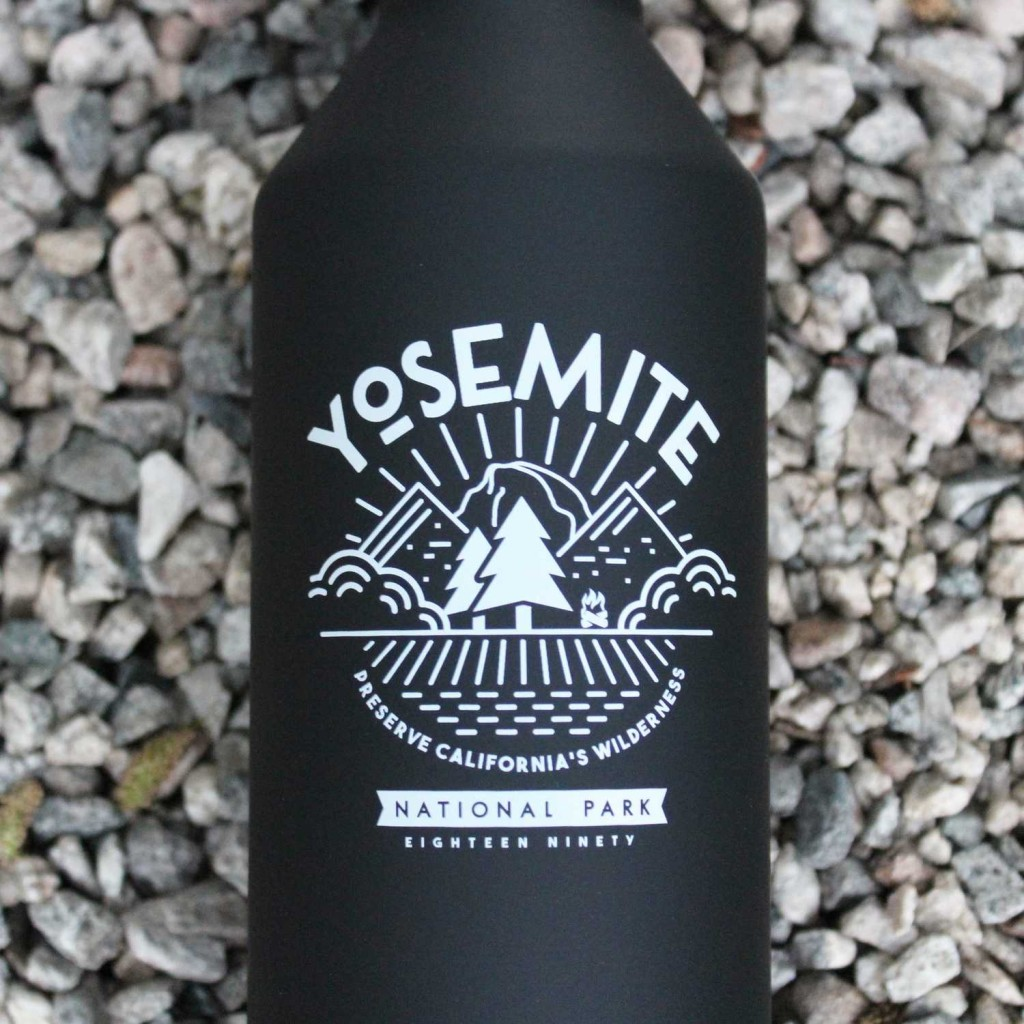 limited edition national parks bottle yosemite