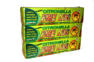 Citronella Fire Log