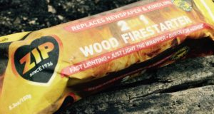 Zip 2 in 1 wood firestarter