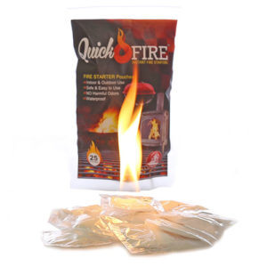 Quick Fire Instant Fire Starter Pouches