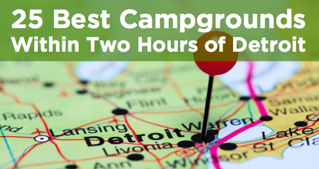 campgrounds within two hours of detroit