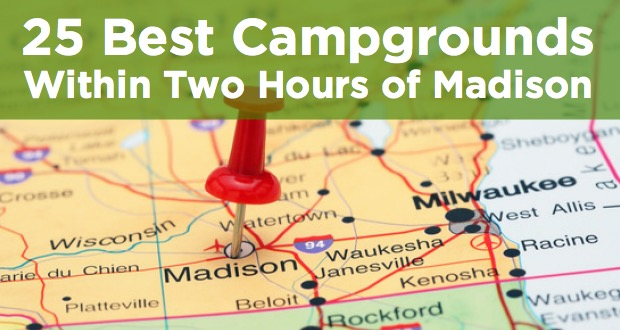 campgrounds within two hours of madison