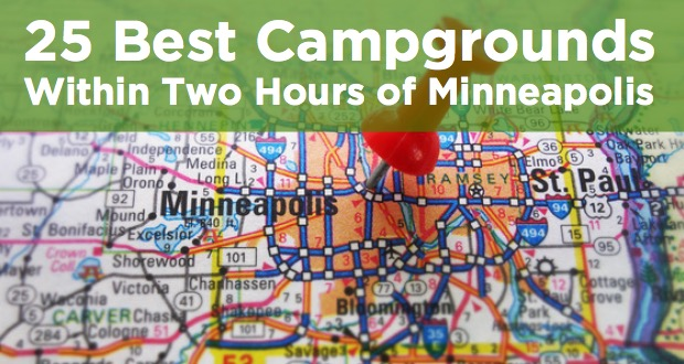 campgrounds within two hours of minneapolis
