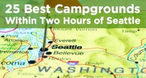 campgrounds within two hours of seattle