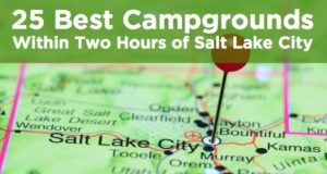 campgrounds within two hours of salt lake city