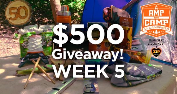 Amp Your Camp - Camping Giveaway